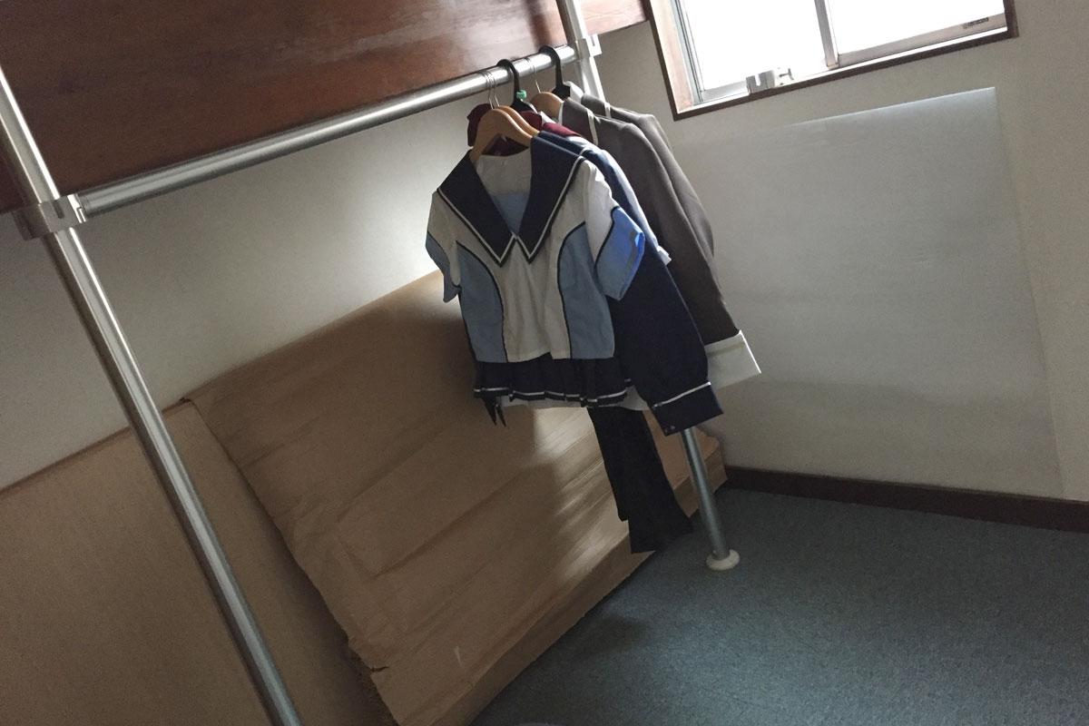 コスプレ衣装 クローゼット