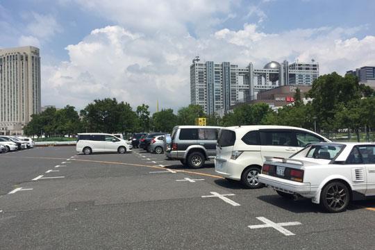 お台場 P6青海臨時駐車場