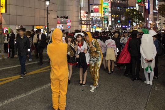 渋谷ハロウィン 美女