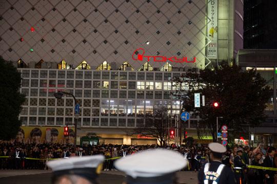 渋谷 ハロウィン 交通整理