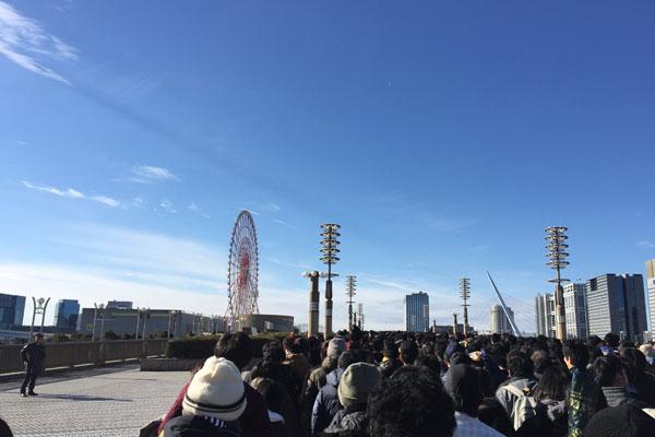 コミケC95 入場待機列