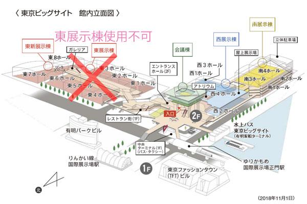 東京ビッグサイト オリンピック 使用不可