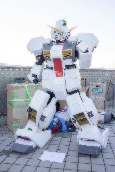 コミケC95 コスプレ ガンダム TR-1
