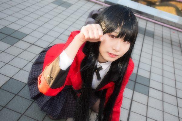 コミケC95 コスプレ 賭ケグルイ 蛇喰夢子