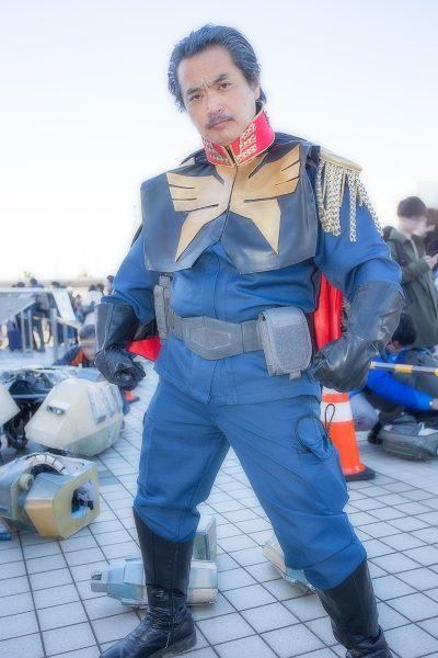 コミケC95 コスプレ ガンダム ランバ・ラル