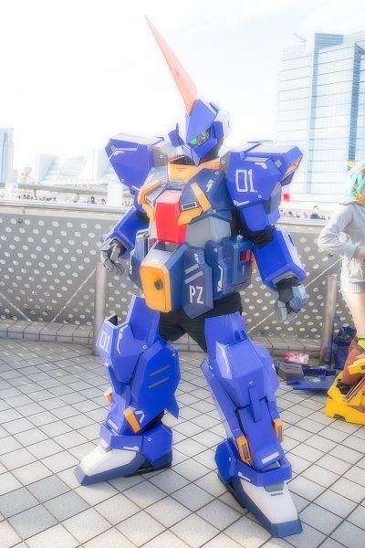コミケC95 コスプレ ガンダム バーザム
