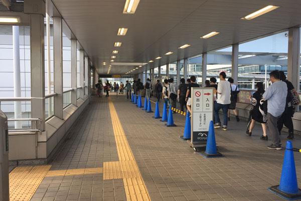 コミケC96 ゆりかもめ 東京ビッグサイト駅