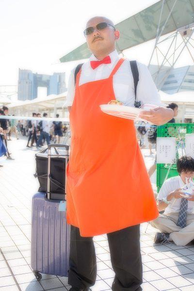 夏コミC96-1日目 コスプレ シティハンター 海坊主