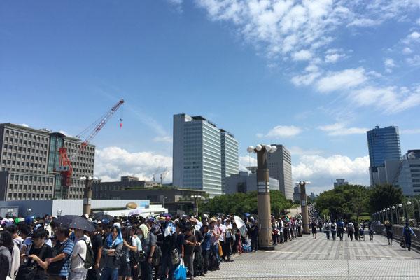 コミケC96-3日目 入場待機列