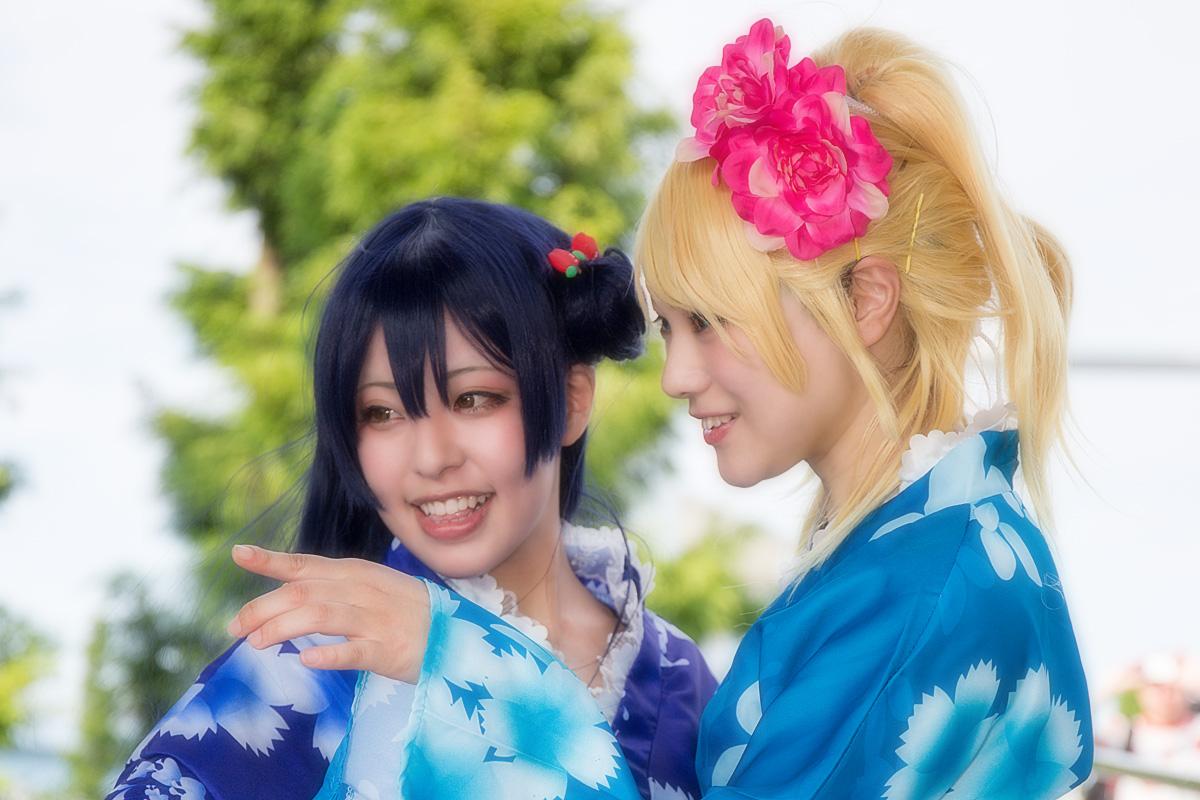 夏コミC96-3日目 コスプレ ラブライブ!スクフェス お祭り編