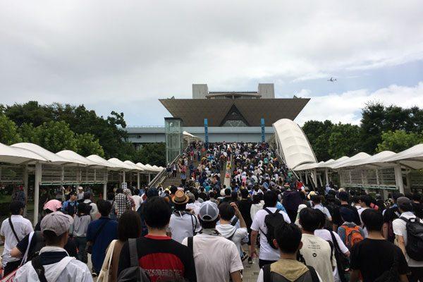 コミケC96-4日目 入場待機列