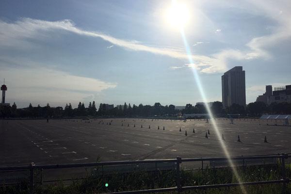 閉鎖中 青海第二臨時駐車場