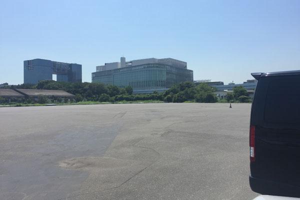P10青海南臨時駐車場 ガラ空き