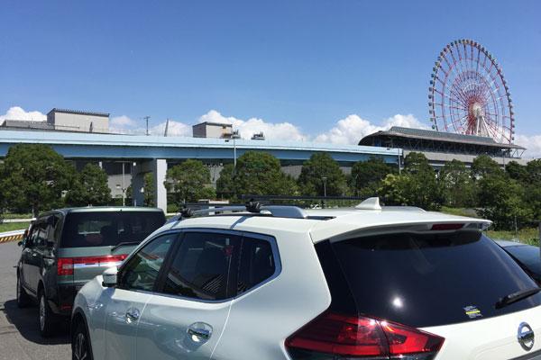 コミケC96-3日目 P10青海南臨時駐車場