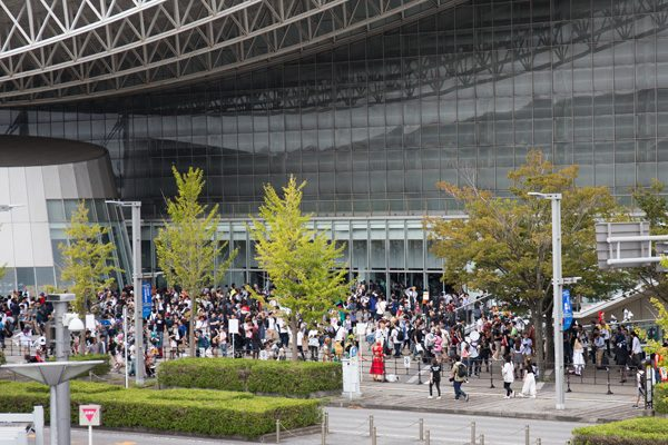 東京ゲームショウ2019 コスプレエリア