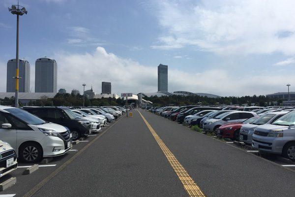 東京ゲームショウ2019 幕張メッセ駐車場