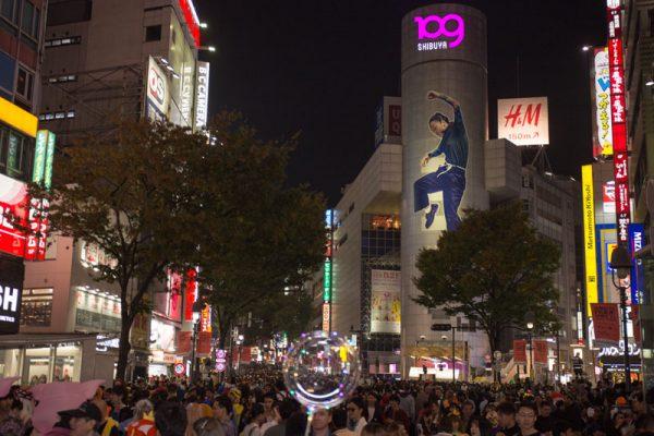 渋谷ハロウィン 109 道玄坂