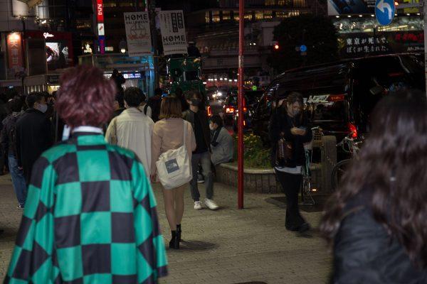 渋谷ハロウィン2020 鬼滅の刃 コスプレ